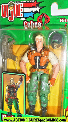 gi joe DUKE 2003 v11 mission disc spy troops action figures moc