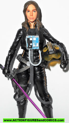 STAR WARS action figures JAINE SOLO 6 inch THE BLACK SERIES tie fighter pilot