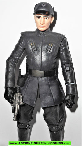 STAR WARS action figures FIRST ORDER OFFICER 6 inch THE BLACK SERIES Toys R Us