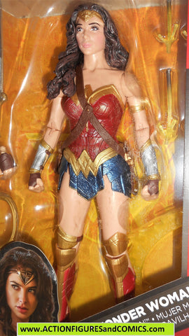 dc universe classics WONDER WOMAN 12 INCH multiverse batman v superman movie moc mib