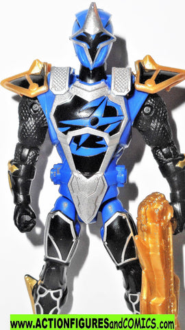 Power Rangers BLUE RANGER 5 inch Super Ninja Steel mode bandai