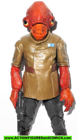 STAR WARS action figures ADMIRAL ACKBAR 6 inch THE BLACK SERIES 2015