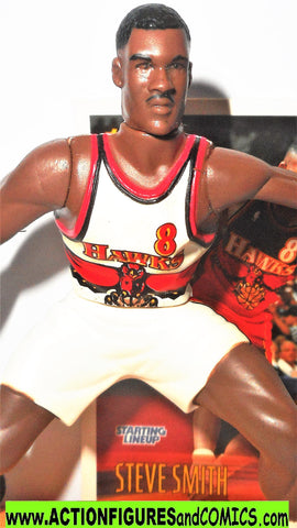 Starting Lineup STEVE SMITH 1997 Atlanta Hawks sports basketball