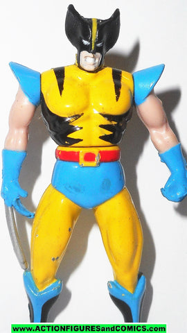 Marvel die cast WOLVERINE poseable metals x-men 1995 toybiz universe