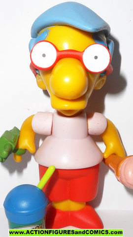 simpsons MILHOUSE playmates world of springfield action figures