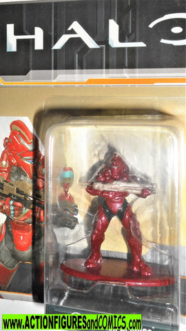 Nano Metalfigs Halo SPARTAN ACHILLES die cast metal figure MS8 moc