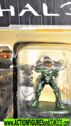 Nano Metalfigs Halo MASTER CHIEF die cast metal figure MS2 moc
