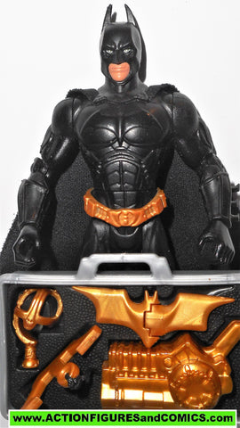 batman begins BATMAN Battle gear suitcase complete mattel movie 2005 action figure