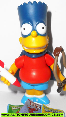 simpsons BART BARTMAN playmates world of springfield action figures