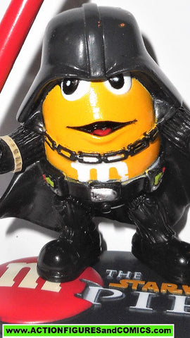 STAR WARS galactic heroes DARTH VADER Peanut yellow M&M complete empire Mpire