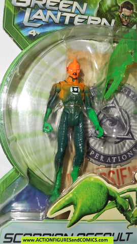 Green Lantern TOMAR RE movie scorpion attack dc universe 2010 moc