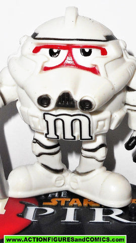 STAR WARS galactic heroes STORMTROOPER red M&M complete empire Mpire