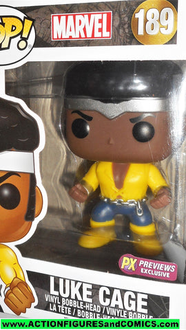FUNKO POP Marvel LUKE CAGE 189 px previews exclusive classic pops moc mib