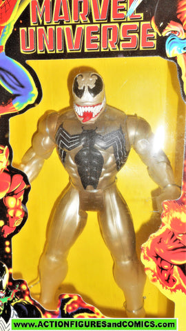 Spider-man the Animated series STEALTH VENOM toy biz 10 inch marvel universe moc mib