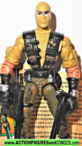 gi joe BEACHHEAD 2003 v5 complete spytroops g i gijoe action figure