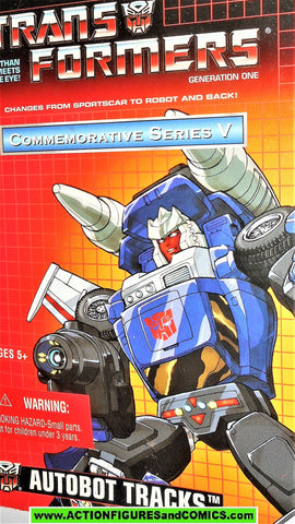Transformers generation 1 TRACKS universe commemorative 2003 reissue