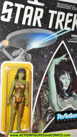 Reaction figures Star trek VINA ORION animal woman funko toys action moc
