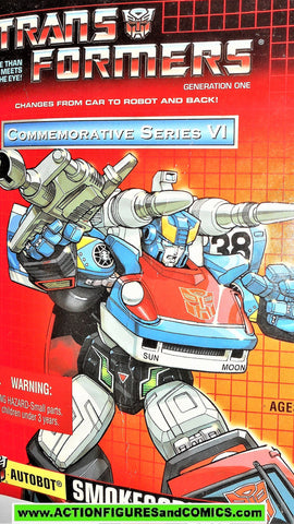 Transformers generation 1 SMOKESCREEN universe commemorative 2003 reissue