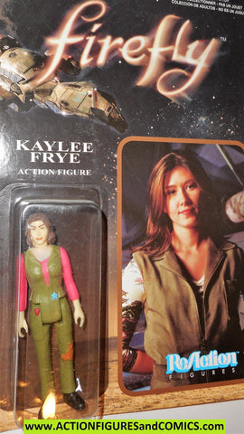 Reaction figures Firefly KAYLEE FRYE serenity funko toys action moc mip mib