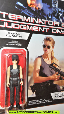 Reaction figures Terminator SARAH CONNOR sun glasses judgment day 2 movie action moc