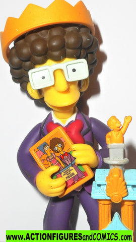simpsons ARTIE ZIFF series 16 playmates world of the highschool prom
