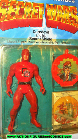 secret wars DAREDEVIL 1984 1985 vintage mattel marvel action figures moc