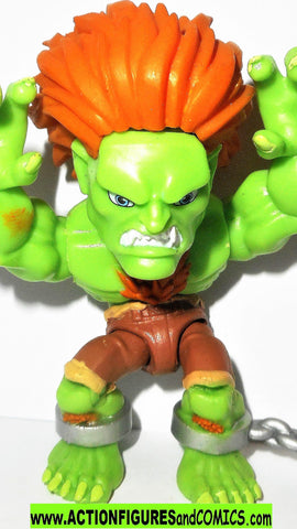 Loyal Subjects Street Fighter II BLANKA SILVER chain complete capcom
