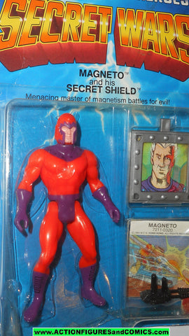 secret wars MAGNETO vintage 1984 mattel moc x-men marvel