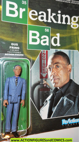 Reaction figures Breaking Bad GUS FRING funko toys action moc mip mib