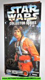 star wars action figures LUKE SKYWALKER X-WING pilot 12 inch 1997 moc mib
