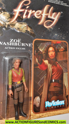 Reaction figures Firefly ZOE WASHBURNE serenity funko toys action moc