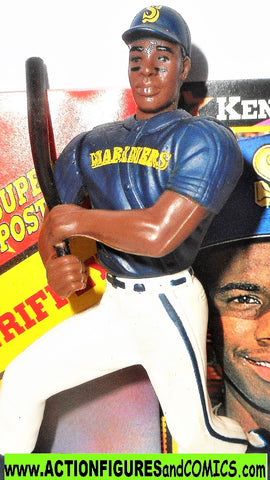 Starting Lineup KEN GRIFFEY JR 1992 poster BLUE Seattle Mariners sports baseball
