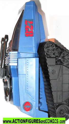 gi joe HISS Cobra 2008 25th anniversary BLUE complete target exclusive