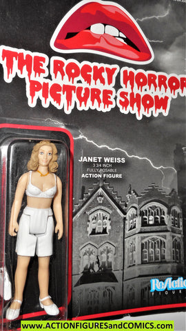 Reaction figures the rocky horror picture show JANET WEISS funko toys moc