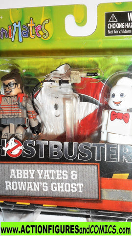 minimates Ghostbusters ABBY YATES ROWAN's ghost 2016 moc