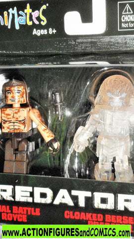 minimates Predator ROYCE final battle CLOAKED berserker movie aliens moc