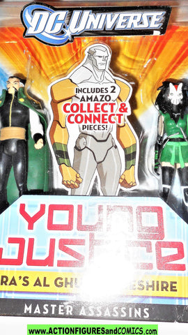 Young Justice RA'S AL GHUL CHESHIRE amazo baf 2 pack league moc mib