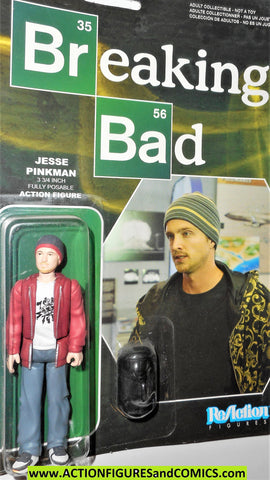 Reaction figures Breaking Bad JESSE PINKMAN funko toys action moc mip mib
