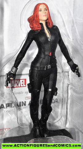Marvel Eaglemoss BLACK WIDOW #02 MOVIE series 5 inch Captain America