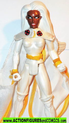 Marvel universe toy biz STORM 10 inch X-men force white suit deluxe collectors