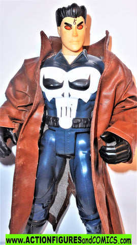 Marvel universe toy biz PUNISHER 10 inch Marvel Knights deluxe collectors