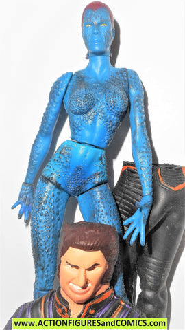 marvel legends MYSTIQUE wolverine disguise x-men movie toy biz 2000