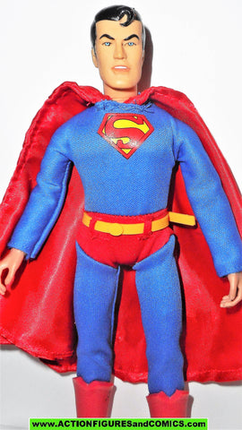 dc super heroes retro action SUPERMAN dark blue mego vintage universe