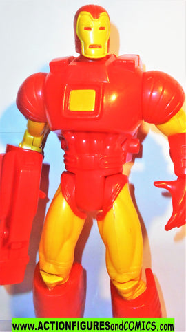 Marvel universe toy biz IRON MAN 10 inch SPACE ARMOR deluxe collectors 100%