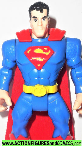 DC Heroes World SUPERMAN 6 INCH fisher price justice league super friends