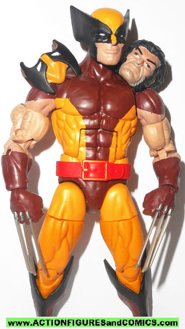 marvel legends WOLVERINE vintage retro toybiz series X-men 2017 hasbro
