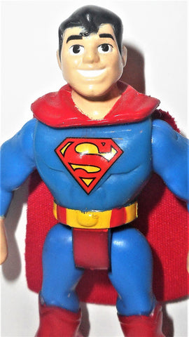DC imaginext SUPERMAN teeth showing fisher price justice league super friends