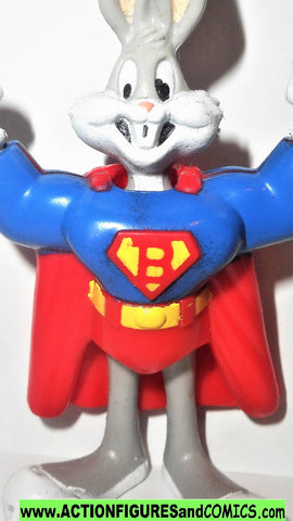 Justice League BUGS BUNNY as SUPERMAN 1991 SUPER heroes mc-d's dc universe