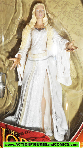 Lord of the Rings GALADRIEL lady of light toy biz complete hobbit moc