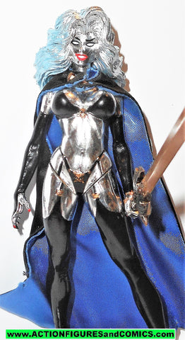 Lady Death LADY DEATH CHROME variant 1997 moore collectibles toys